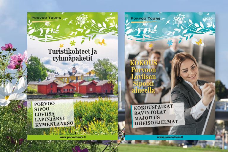 Uudet esitteet - Nya broschyrer